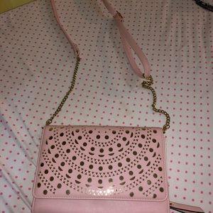 Max studio soft pink crossbody